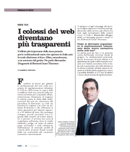 Intervista web tax