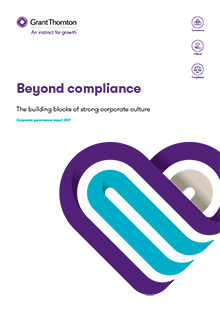 Report: Beyond compliance, the building blocks of a strong corporate culture