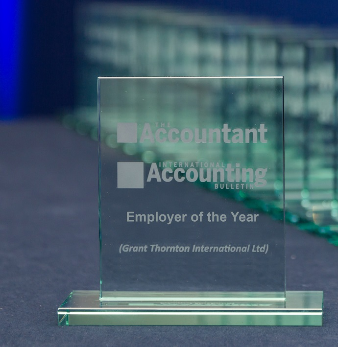 "International Accounting Bulletin ""Employer of the Year Award"" photo"