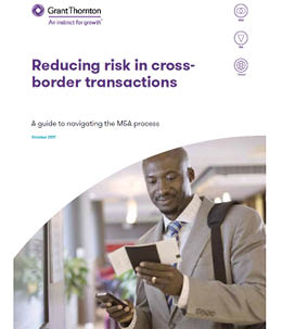 Reducing risk in cross-border transactions - report cover