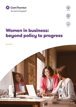 Women in business report cover