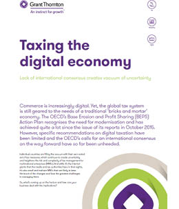 Taxing the digital economy - Cover