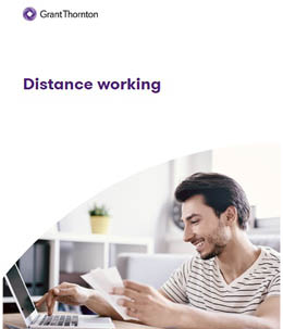 "Preview per brochure ""Distance Working"""