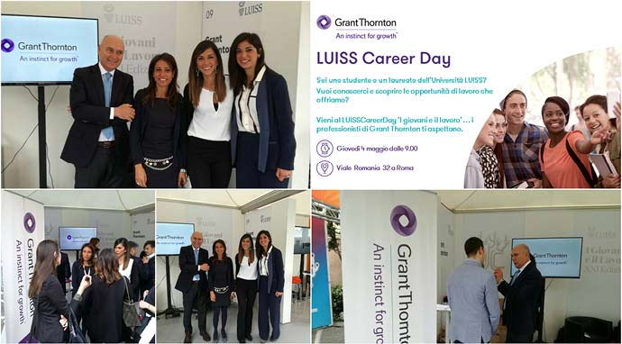 Career day università LUISS Roma