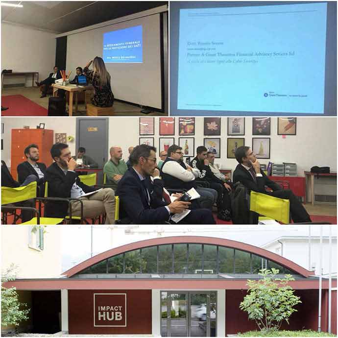 La cybersecurity per pe PMI - foto evento