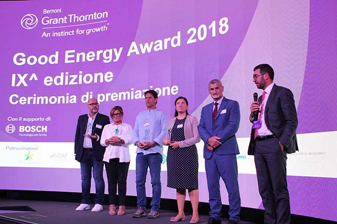 Good Energy Award 2018: the winners of the 9th edition
