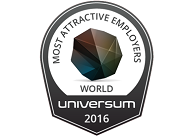 Global Most Attractive Employer 2016 Universum survey